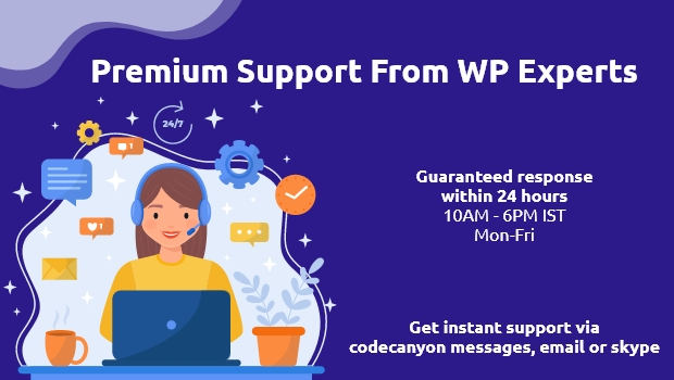 Premium support available
